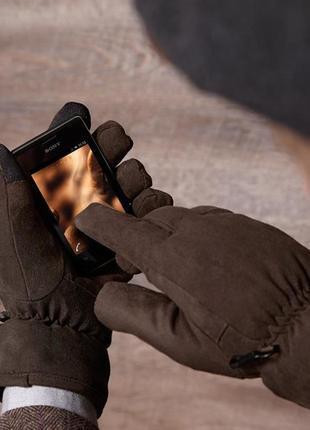 Классные мужские перчатки от тсм tchibo размер 10