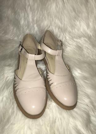 Туфли из натуральной кожи от missoni