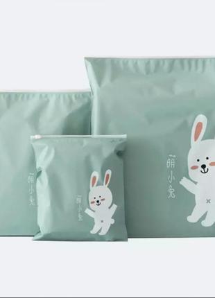 Набор сумка пакет мешок 3шт для хранения