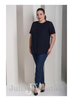 Черная блуза большой размер