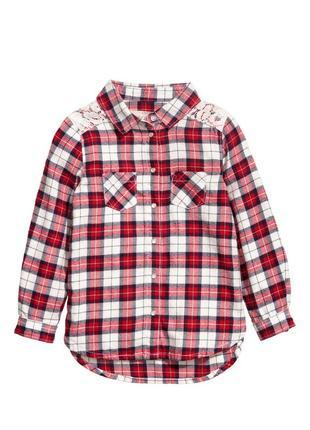 Рубашка h&m на 5-6 лет