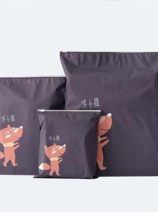 Набор  сумка пакет мешок для хранения 3 шт