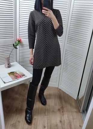 Платье/туника в полоску dorothy perkins, p-p uk 10/s