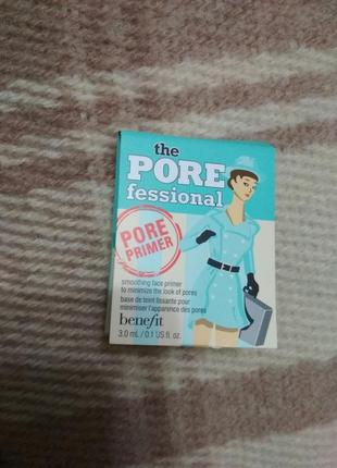 Праймер база под макияж затирка пор benefit the porefessional