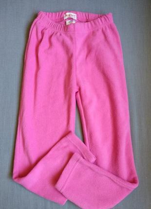 Флісові штани для дівчинки 134/140см