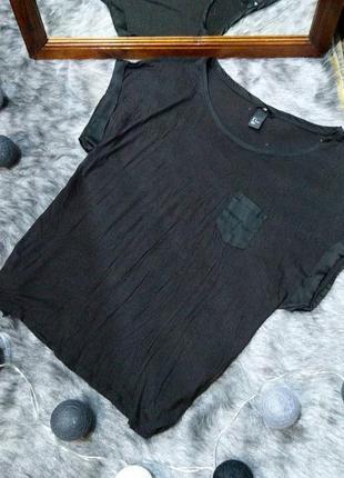 Свободная блуза топ кофточка h&m