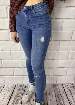 Крутые скинни джинсы