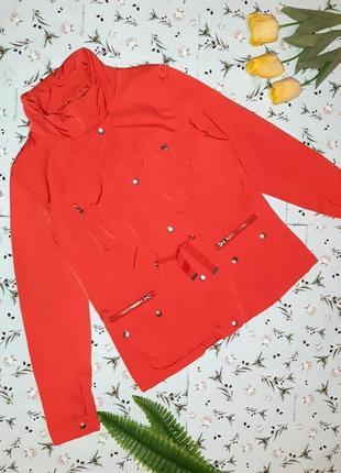 🎁1+1=3 крутая невероятно качественная женская красная куртка south, размер 50 - 52