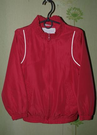 Классная спортивка,мастерка,кофта, куртка , девочке на рост 126-130 -okay-