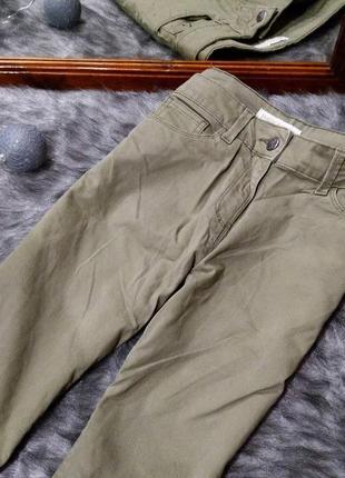 Повседневные джинсы оттенка хаки papaya2 фото