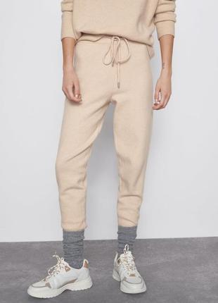 Трикотажные брюки - джоггеры zara