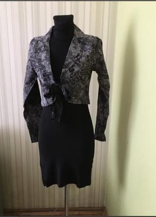 Костюм. платье и пиджак
