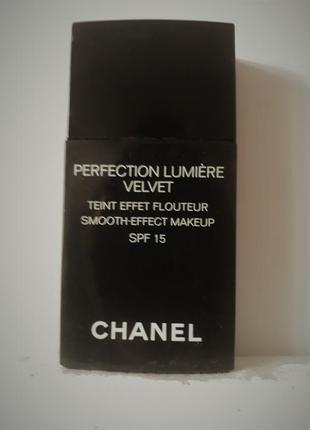 Chanel perfection lumiere velvet тональный крем шанель