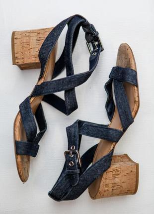 Nine west босоножки на устойчивом каблуке
