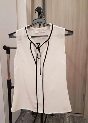 Белая блуза reserved xs - s
