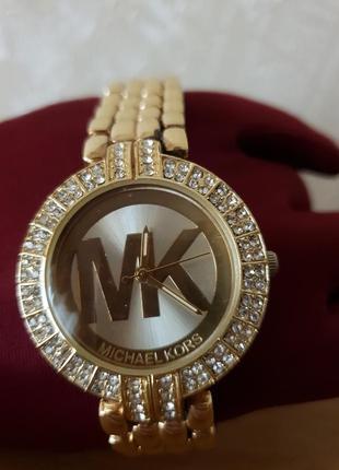 Женские часы michael kors, желтое золото