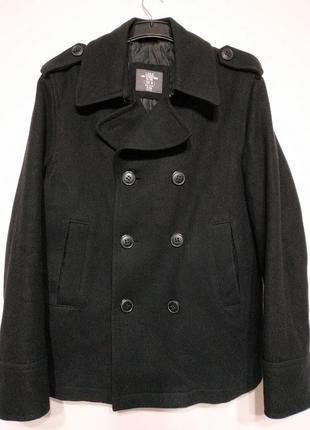 М 48 пальто мужское черное