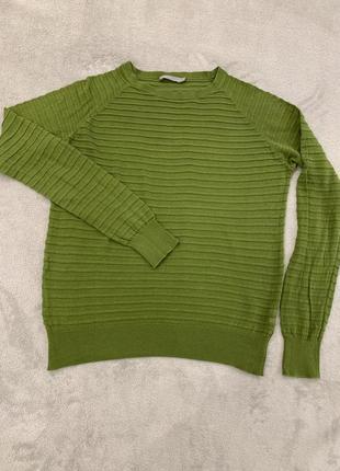 Тонкий хлопковый свитер, джемпер cos