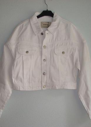 Распродажа! джинсовый женский пиджак  stradivarius испания