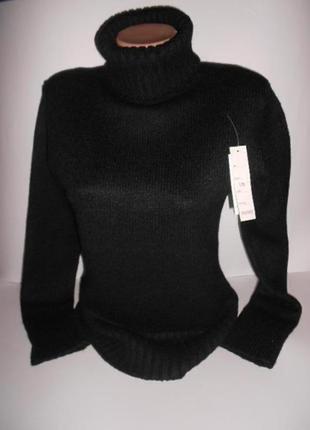 Новый, теплый, 95% шерсть, качественный свитер водолазка