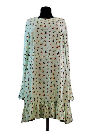 Платье свободное с расклешенными рукавами asos