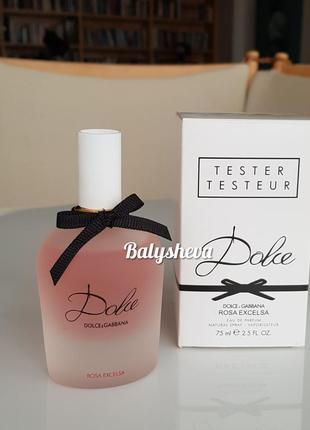 Dolce&gabbana парфюмированная вода тестер