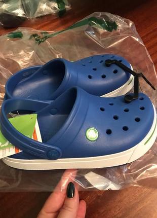 Сабо crocs crocband clog кроксы оригинал 3р  крокс