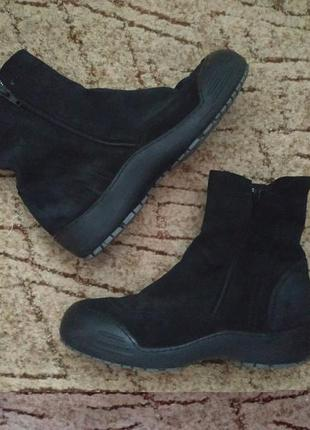 Крутячие дизайнерские ботинки на натуральном меху, италия!