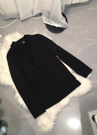 Чёрный пиджак от н&м