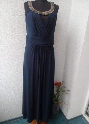 Нарядное длинное платье joanna hope