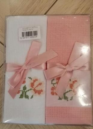 Кухонные полотенца набор 45*70(2шт) комплект, в наличии расцветки,фото реальное