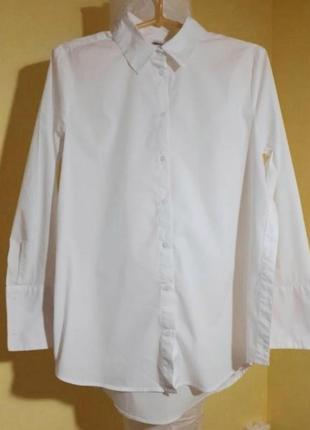 Шикарная белая рубашка ya ya