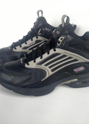 Шкіряні кросівки кожаные баскетбольные кроссовки reebok dmx vintage