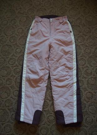 Лыжные штаны брюки funboard 152 для худенькой девочки