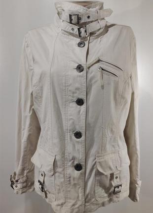 Женская куртка ветровка на пуговицах размер 46-48
