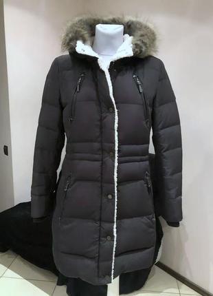 Пуховое пальто ralph lauren
