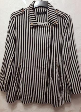 Крутой пиджак-косуха, 48-50, zara trafaluc