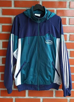 Adidas vintage кофта олимпийка размер l-xl