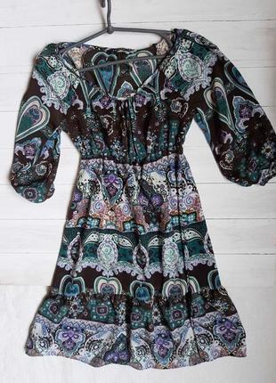 Платье в интересный принт