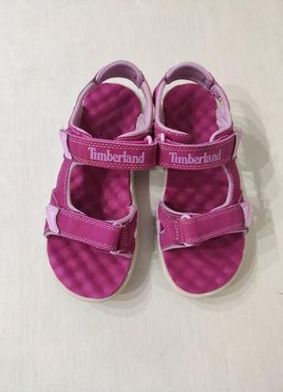 Timberland розовые босоножки, сандалии