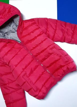 Курточка двухсторонняя 3-4 года