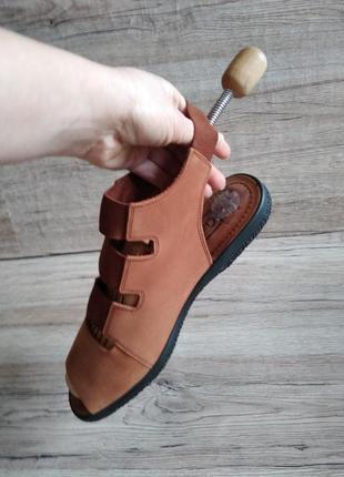 Gabor  сандалия,сандали на широкую ногу, кожаные