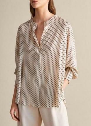 Торг блузка блуза рубашка сорочка massimo dutti