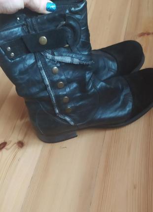 Высокие зимние мужские ботинки