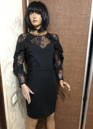 Красивое платье экстравагантное  платье