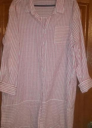 Платье рубашка 48-50р