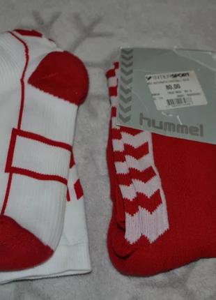 Новые футбольные гетры носки hummel размер 32-35 и 36-40