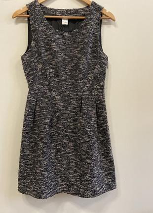 Платье с разрезом на спинке vila p.s #545. 1+1=3🎁