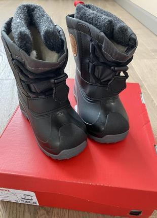 Новые reima детские ботинки