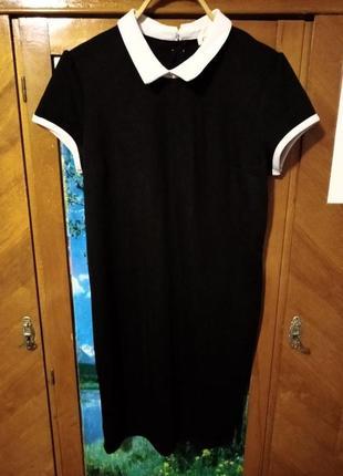Платье с воротником